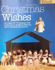 Alan Dart Knitting Pattern for Christmas Wishes Nativity Set