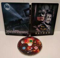 BATMAN SteelBook DC COMICS Édition Blu-ray - PAL Zone 2 - Comme neuf