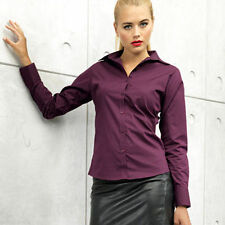 Business Fitted Long Sleeve Women's Tops & Shirts