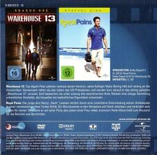 WAREHOUSE 13 + ROYAL PAINS (je 1 Episode) DVD im Pappschuber NEU