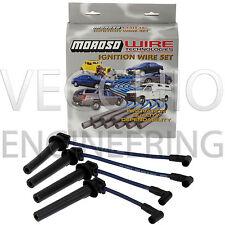 Moroso Racing Ultra 40 Carrera encendido plomo De Alambre Set Bmw Mini Cooper Jcw Gp Azul