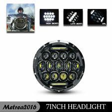 Cafe Racer Bobber Black Motorcycle Headlight For KAWASAKI VULCAN VN 750 900 800