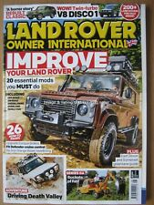 Land Rover Owner International August 2017 Discovery 1 Range Rover Series IIa