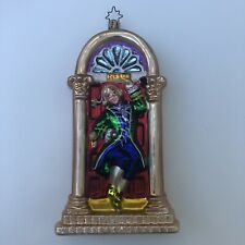 Christopher Radko Doorstep Door 3D Christmas Ornament Victorian No10 Glass