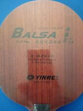 Yinhe / Galaxy T-9 Pro Table Tennis Blade with Padauk top and carbon one side