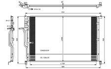 NRF Condensador, aire acondicionado AUDI A8 35923