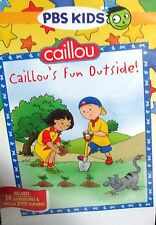 Caillou: Caillous Fun Outside NEW! DVD, PBS, Childrens TV, Learn, Fun, Outdoor