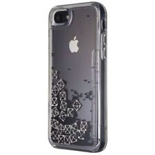 Rebecca Minkoff See Through Me Case for iPhone 8 / 7 - Pyramid Stud Glitterfall