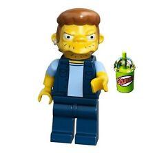 LEGO THE SIMPSONS MINIFIGURE Snake aka Jailbird Squishee Kwik-E-Mart Kwik 71016