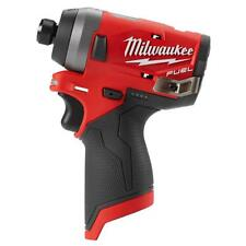 Milwaukee 2553-20 M12 FUEL 12V Brushless 1/4 Hex Cordless Impact Driver GEN II