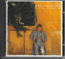 MARCO BORSATO - Emozioni CD Album 14TR (SEALED!!) Holland 1990 POLYDOR
