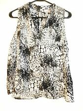 FOREVER 21 COMTEMPORARY WOVEN TOP SLEEVELESS TOP  - Sz M -NWT