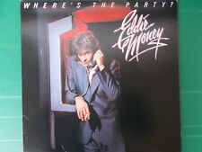 EDDIE MONEY WHERE'S THE PARTY ? LP VINILE  1983 PRESSING USA NUOVO LOOK