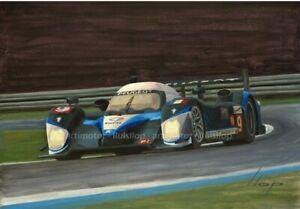 Artimotor - Fine Art Print 33x48 / 2009 Marc Gene - Peugeot 908 / Le Mans