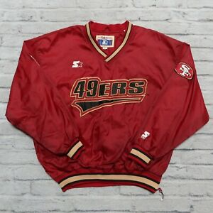Vintage San Francisco 49ers Pullover Sweater by Starter Size M