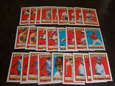 1988 Topps Baseball---Stickers---Lot Of 26---Dupes