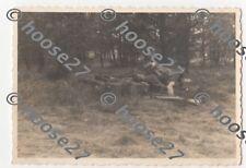 Foto 2cm Werfer Wehrmacht Bedienung beim Feuern  9x6cm 2.WK orig TOP