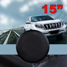 """Universal 15"""" Car Spare Wheel Tire Cover RV Truck SUV Camper Wheel Cover"""