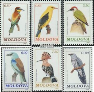 Moldawien 14-19 (complete issue) unmounted mint / never hinged 1992 Birds