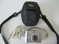 Canon PowerShot A540 (6.0 Mega Pixels) Digital Camera 4× Opt. Zoom Case & Cable