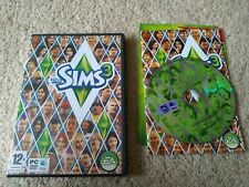 The Sims 3 Original PC game. COMPLETE. Simulator role play people