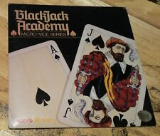 Blackjack Academy Micro-Vice Series by Microillusions for Apple IIGS 1987