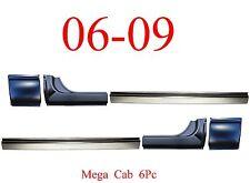 06 09 Mega Cab 6Pc Rocker & Mega Cab Corner, Dodge Ram Truck, Front & Rear, L&R!