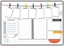 Schreibtischunterlage aus Papier zum Abreißen mit To-do Liste & Notizfeld DINA3