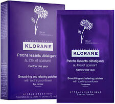 Klorane Eye Contour Smoothing & Relaxing Patches With Soothing Cornflower x 14