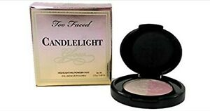 TOO FACED CANDLELIGHT GLOW ROSY GLOW TRAVEL MINI HIGHLIGHTING POWDER DUO❤NEW BOX
