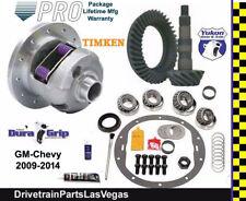Yukon Posi Limited Slip Chevy GM 8.5 8.6 4.56 Ratio Gear Set Master Kit 09-14