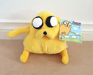 Cartoon Network Adventure Time - Jake 16cm Plush Soft Toy New With Tags