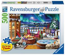 RAVENSBURGER PUZZLE*500 TEILE LARGE*NORTHERN LIGHTS*NORDLICHTER*RARITÄT*NEU+OVP