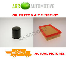 PETROL SERVICE KIT OIL AIR FILTER FOR HYUNDAI COUPE 1.6 105 BHP 2002-09