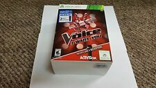 The Voice: I Want You Bundle With 2 Microphones - Xbox 360 new