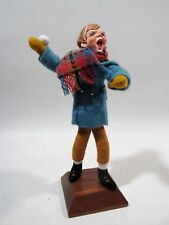 Early 1950s SIMPICH Character Doll Caroler Series SNOWBALL BOY