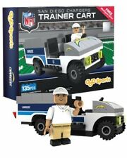 New NFL San Diego Chargers Trainers Cart Set 135Pc (1 Minifigure)
