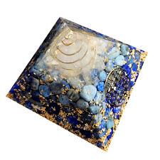 Lapis Lazuli Symbol of Energy Reiki Healing Pyramid Spiritual Energy Generator