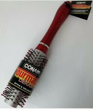 Conair Tourmaline Ceramic Blow Out Hair Brush For Styling & Volume Colors Vary