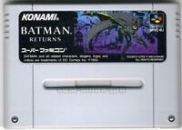 BATMAN RETURNS KONAMI SFC SNES SUPER FAMICOM NINTENDO JAPAN