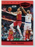 2018 Panini Chronicles Plates & Patches Red Trae Young Rookie RC #371, #'d /149
