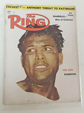 """Vintage """"The Ring"""" Magazine - Featuring Ray Robinson - July, 1957"""