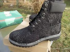 "Men's Timberland 6 "" Premium Baile Funk Leather Boot Black / Us 8 M / Deadstock"