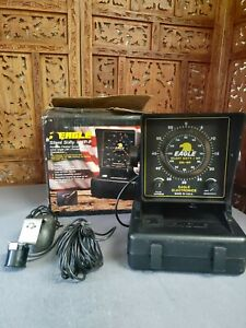 Vintage EAGLE Silent Sixty I Depth/ Fish Finder With Sensor and Original Box