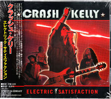 "Crash Kelly-CD: ""Electric Satisfaction"" [Japan-Pressung]"