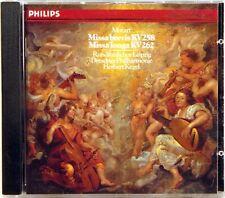 PHILIPS Mozart MISSA BREVIS Kegel (CD 1986 FULL SILVER GERMANY) 412-232-2