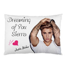 JUSTIN BIEBER Dreaming of You Personalized custom pillow case