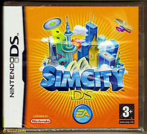 Nintendo DS Sim City (2007), Brand New & Nintendo Factory Sealed