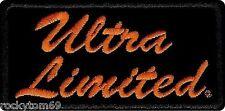 "EM1061642 - Harley-Davidson® Ultra Limited Patch. SM, 4"" W X 2"" H"