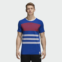 BRAND NEW $50 adidas Men's France Tee Blue CF1697